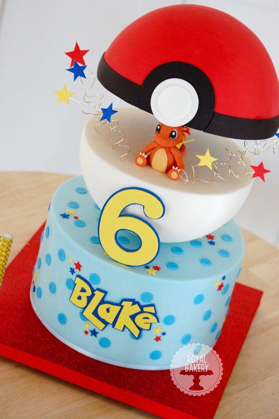 bolo festa pokemon 5