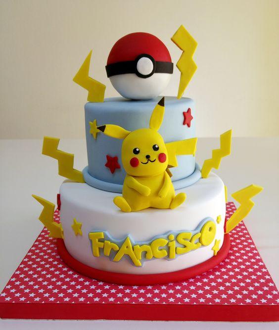 bolo festa pokemon 7