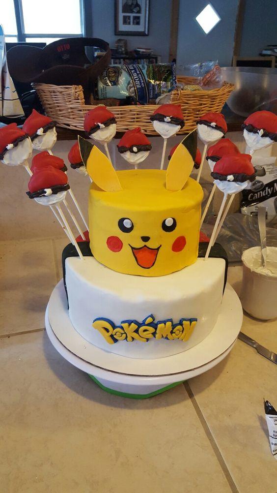 bolo festa pokemon 8
