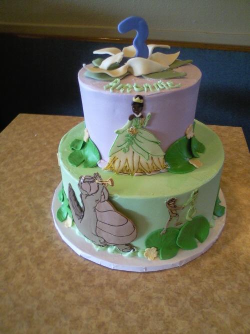 bolo festa princesa e o sapo