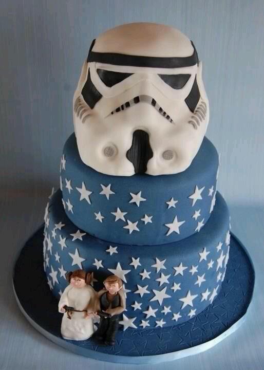 bolo guerra estrelas