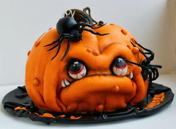 bolo halloween abobora