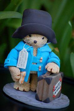 bolo infantil Urso Paddington