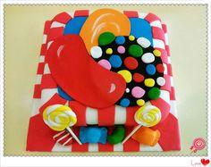 bolo infantil candy crush