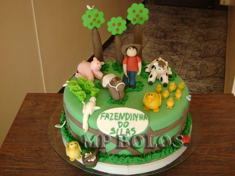 bolo infantil fazendinha