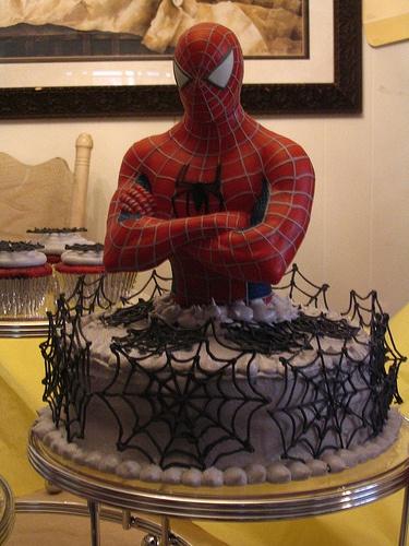 bolo infantil homem aranha