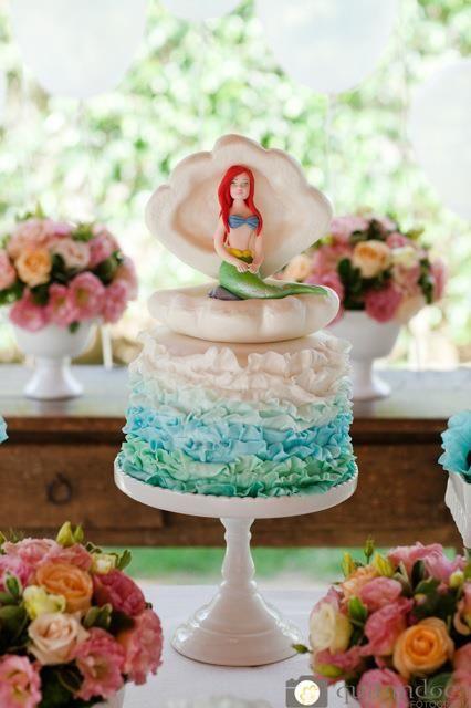 bolo mar e sereia