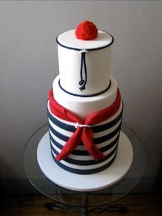 bolo marinheiro decorado