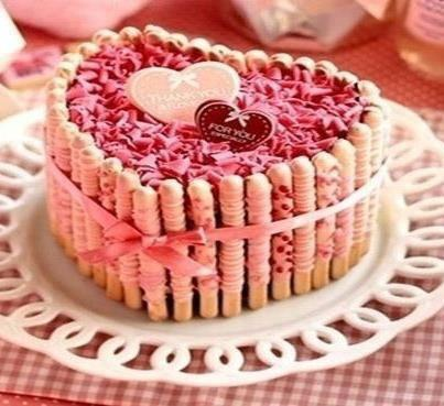 bolo mulher coracao