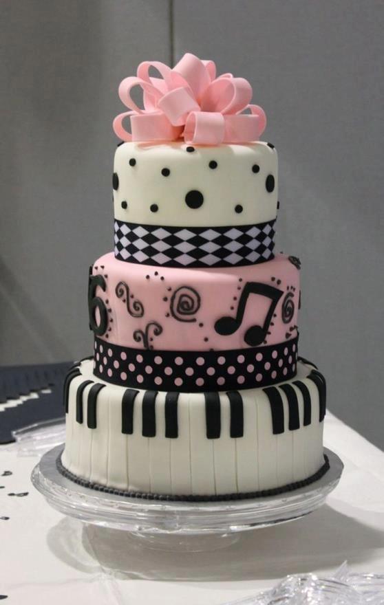 bolo musica menina