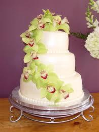 bolo noiva flores verdes