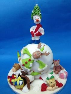bolo para natal