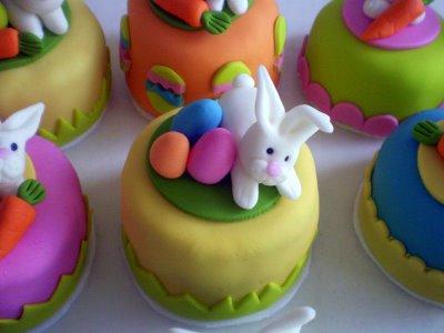 Bolos decorados para a Páscoa