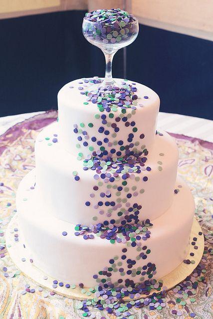 bolo passagem ano taça