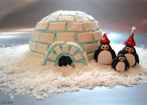 bolo pinguins iglo