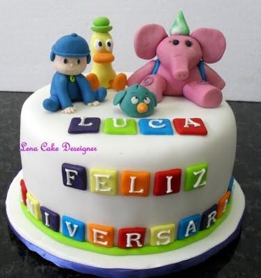 bolo pocoyo festa infantil