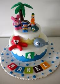 bolo pocoyo festa