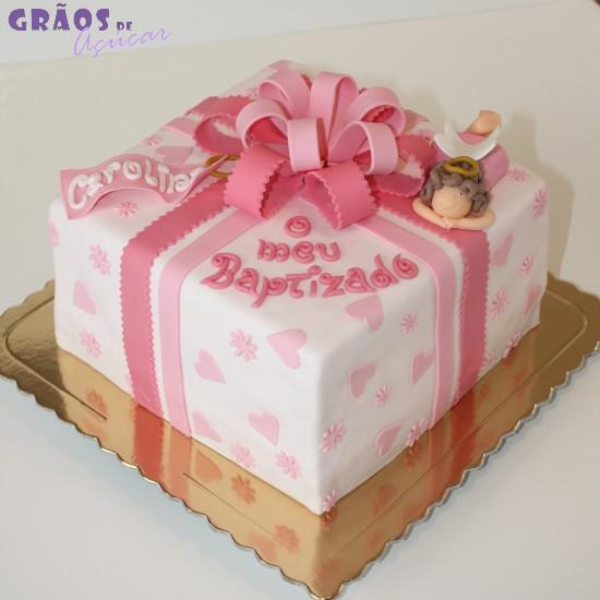 bolo presente baptizado