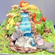 bolo selva cascata