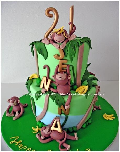 bolo selva macaco