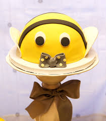 bolo simples abelha