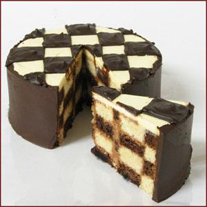 bolo simples xadrez