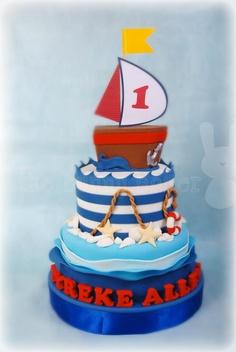 bolo tema marinheiro