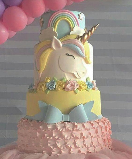 bolo unicornio diferentes
