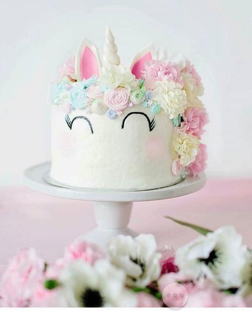 bolo unicornio pequeno