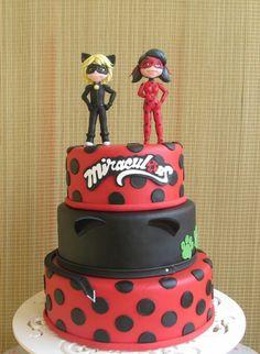 bolos Decorados Miraculous Ladybug 4