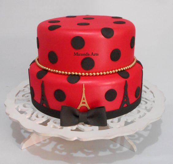 bolos Decorados Miraculous Ladybug 7
