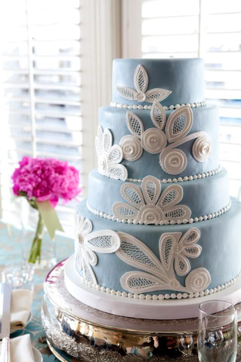 bolos azul noiva