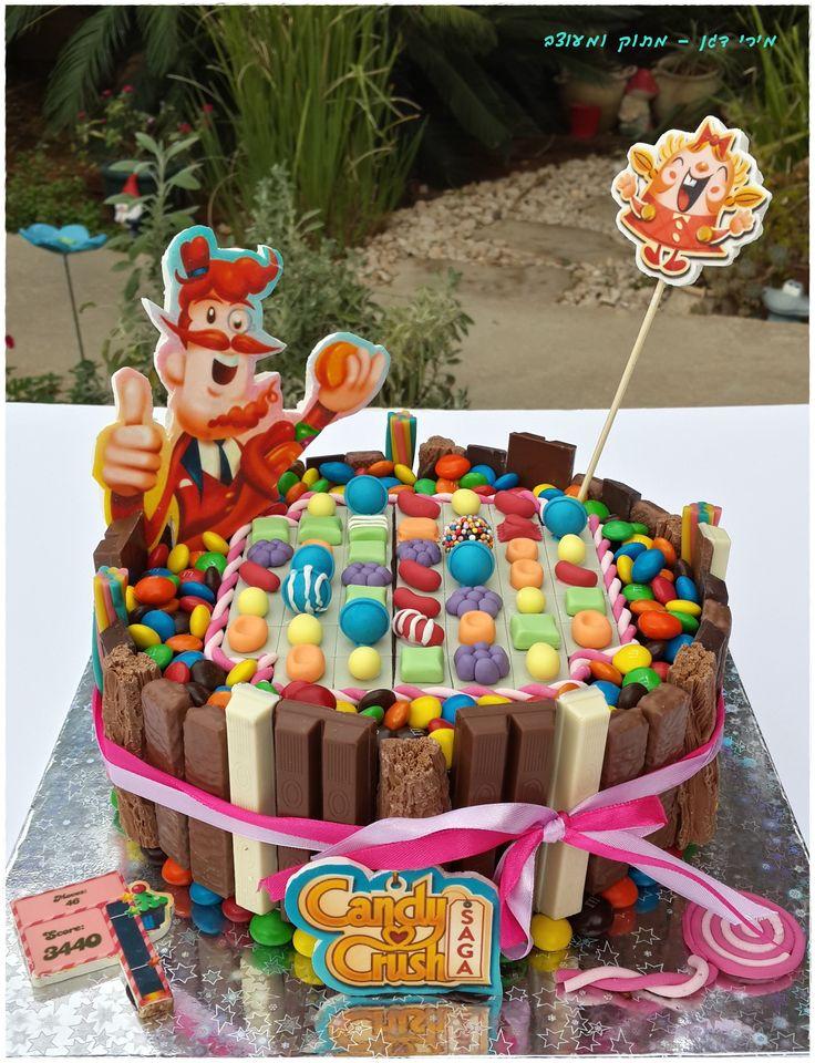 bolos candy crush infantil