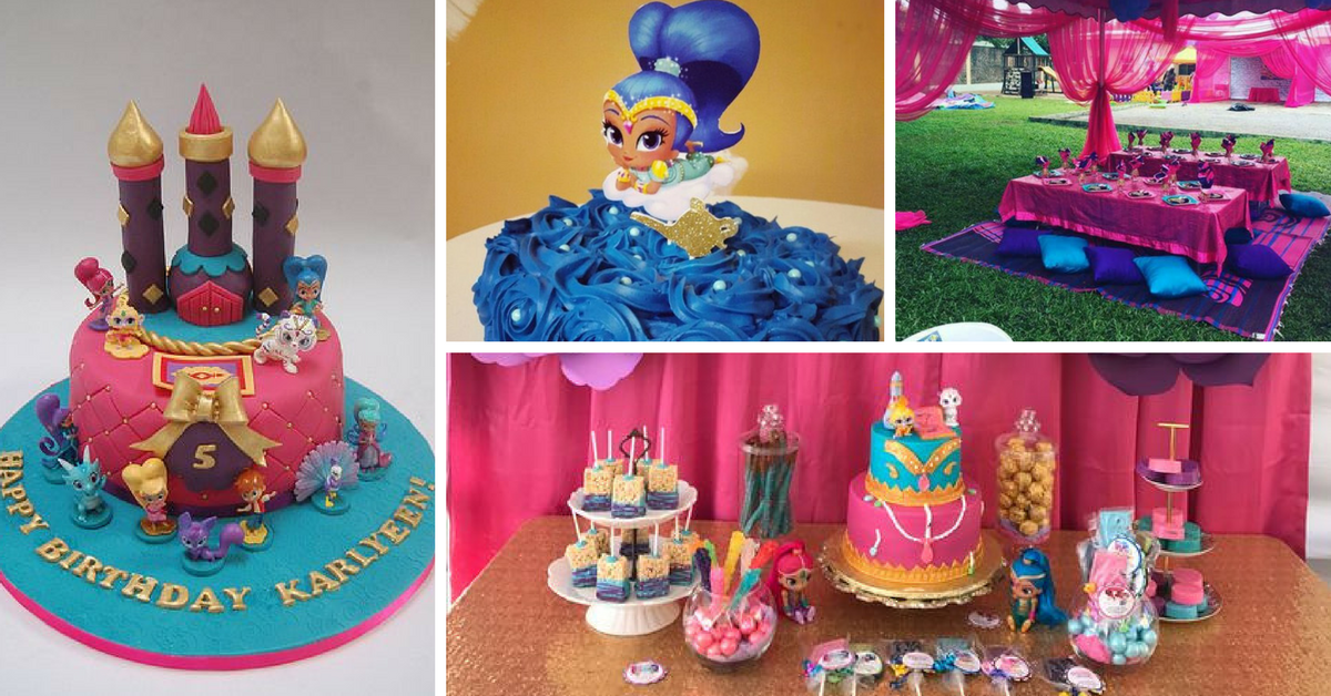 Bolos Decorados Shimmer and Shine