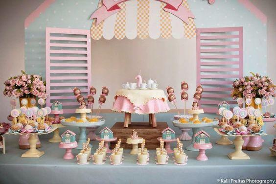 bolos decoracao cha boneca 15