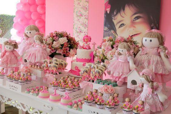 bolos decoracao cha boneca 9