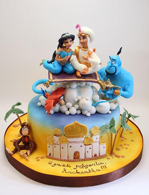 bolos decorados aladim 1
