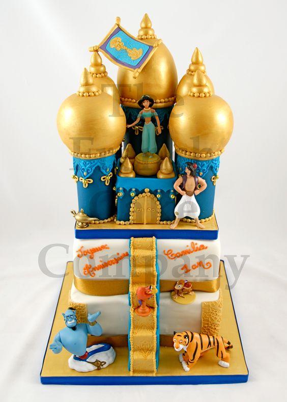 bolos decorados aladim 6
