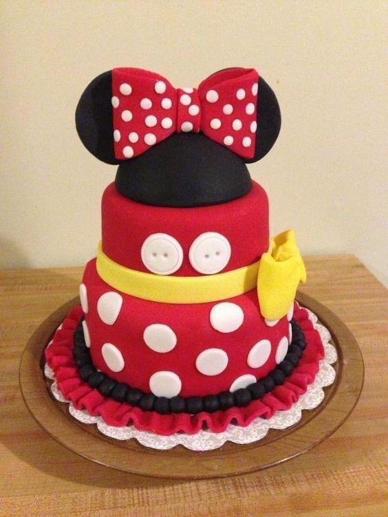 bolos decorados aniversario 1
