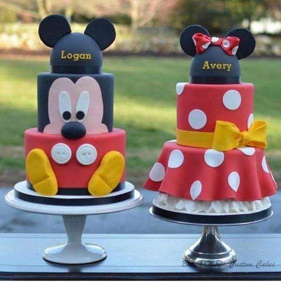 bolos decorados aniversario 10