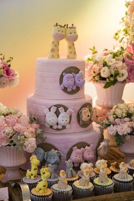 bolos decorados aniversario 4