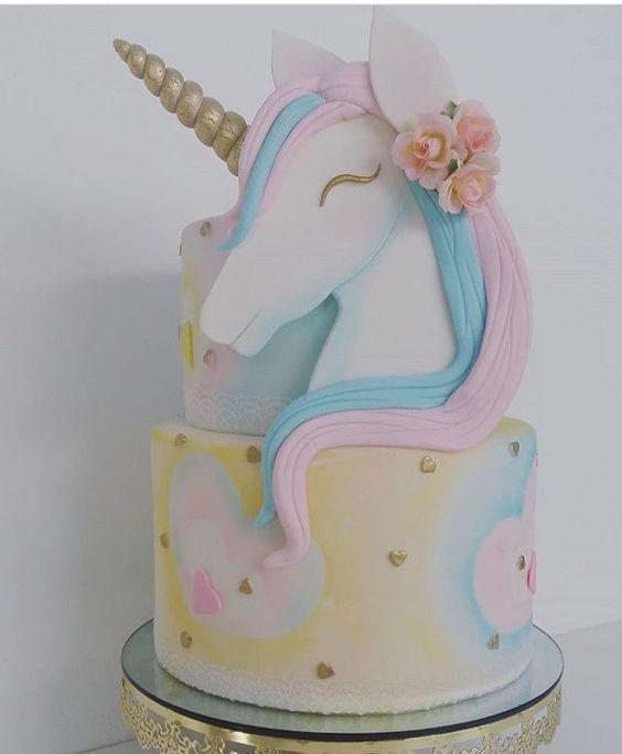bolos decorados aniversario