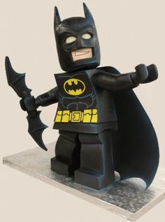 bolos decorados batman
