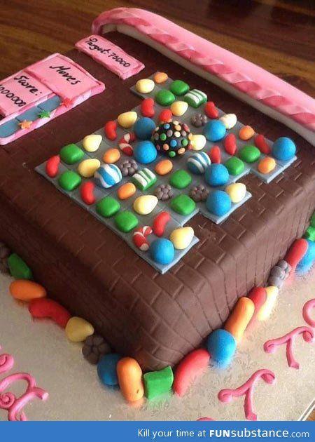 bolos decorados candy crush