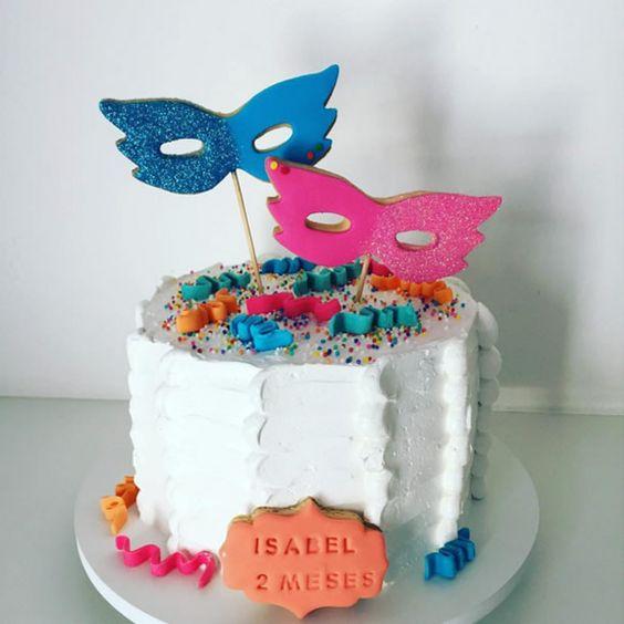 bolos decorados carnaval 3