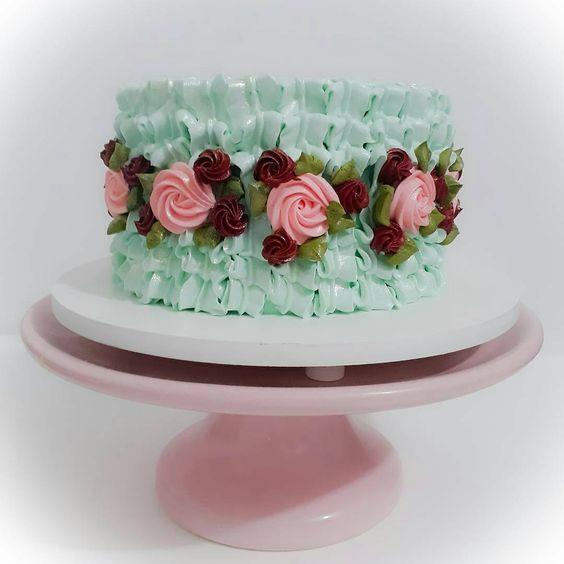 bolos decorados chantininho 3