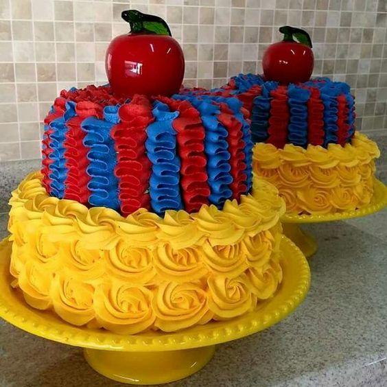 bolos decorados chantininho 5