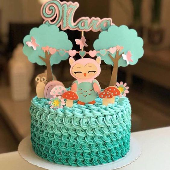 bolos decorados chantininho 6