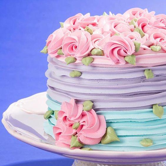 bolos decorados chantininho