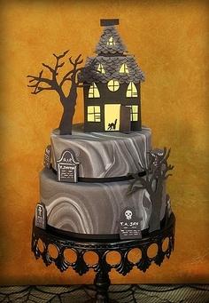 bolos decorados do halloween
